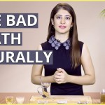 Natural Ways To Treat Mouth Odor | Bad Breath (Halitosis)