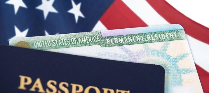Green card status