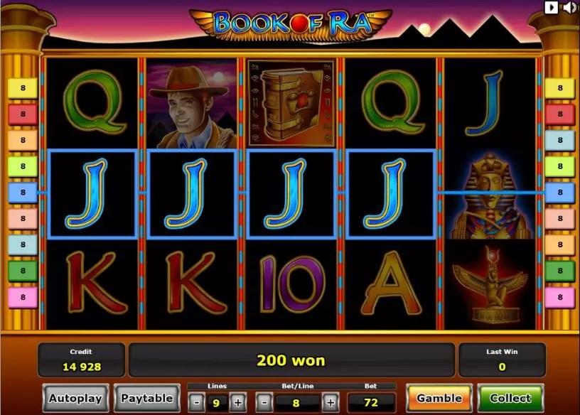 book of ra slot big win