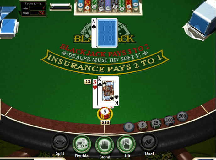 Play Blackjack Online - Online Blackjack Sites