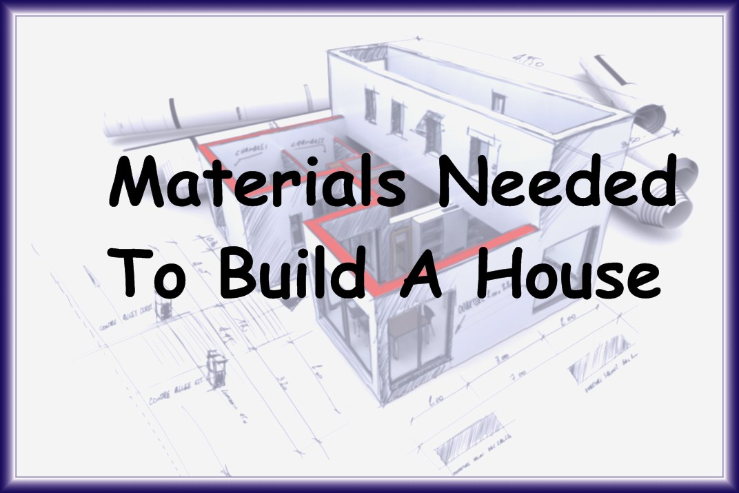 Nice Materials Used In Constructing A 1,700 Square Foot, Single Family Home.