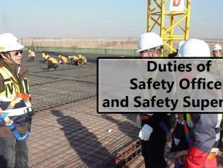 Safety Officer and Safety Supervisor