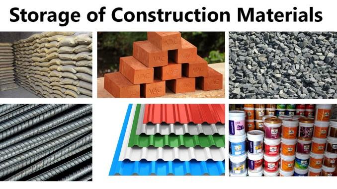 Storage of Construction Materials