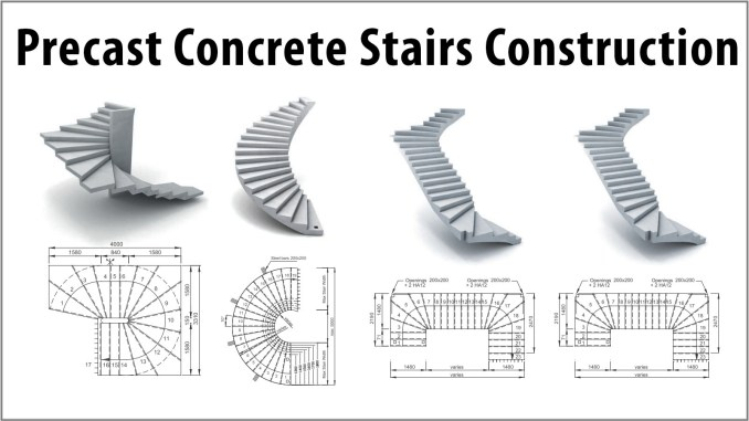 Precast Concrete Stairs Construction