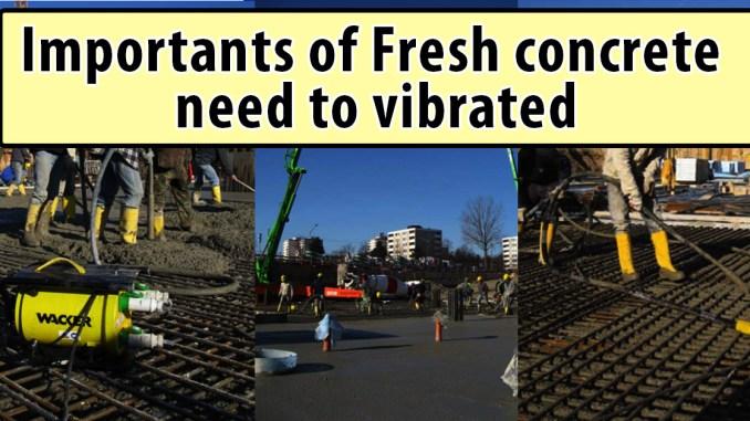 Fresh concrete