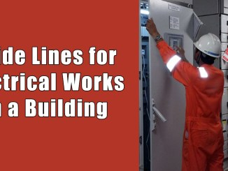 Guide Lines for Electrical Works in a Building