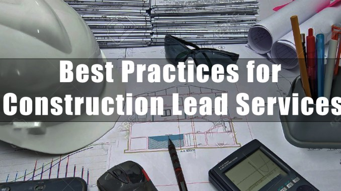 Construction Lead Services