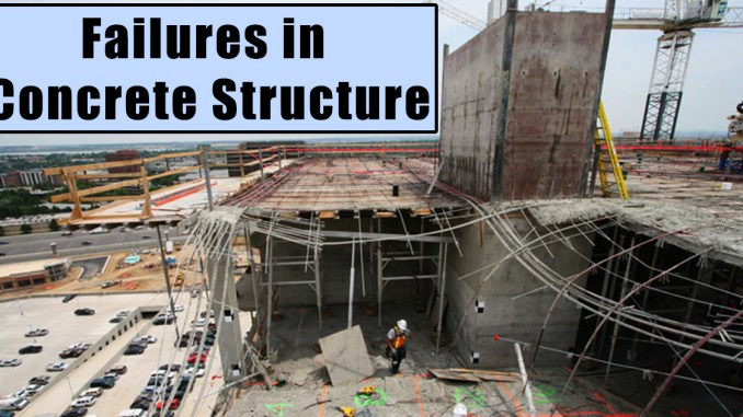 Failures in Concrete Structure