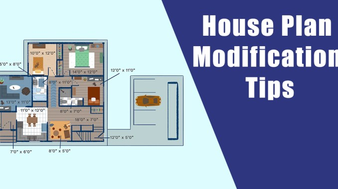 House Plan Modification Tips