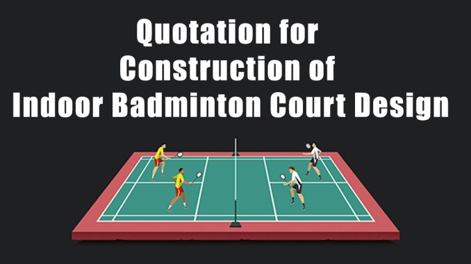 Indoor Badminton Court Design
