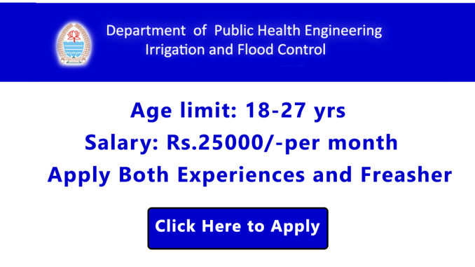 Government Job for Junior Engineer (Civil/Mechanical)