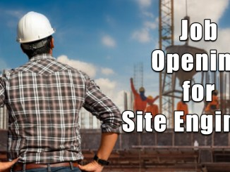 Job Opening for Site Engineer in Civil Engineering