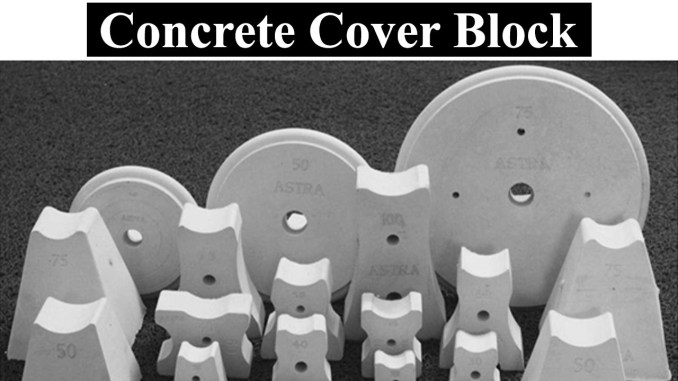 Concrete Cover Block 1
