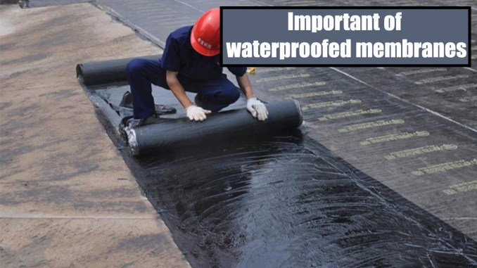 Important of waterproofed membranes