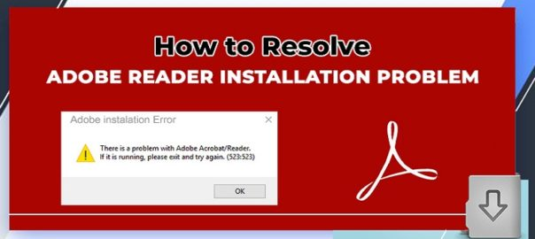 Adobe-Reader-Installation-Problem