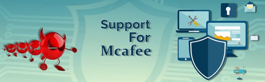 Mcafee support number