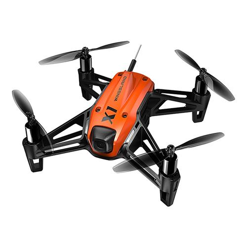 Wingsland X1 WIFI FPV Micro Module Racing Drone with Optical Flow Positioning BNF – Orange