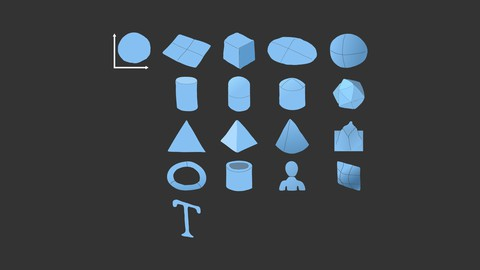 【モデリングの土台】CINEMA 4Dのプリミティブオブジェクト17種類+ヌルの各パラメータを理解して基礎力を身に着ける