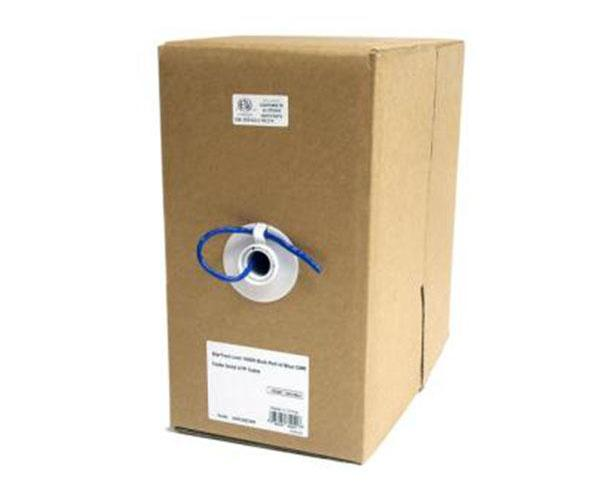 Startech 1000Ft Bulk Roll Of Blue Cmr Cat5E Solid Cable