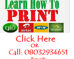 How to start recharge card printing business in Nigeria
