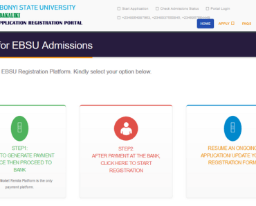 Ebsu portal for Supplementary
