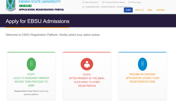 Ebsu portal for Supplementary