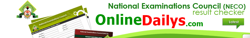 How to Check NECO June/July 2014 Examination Result (Image)
