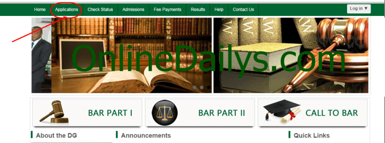 Nigerian Law School Bar Part II October 2014/2015 List