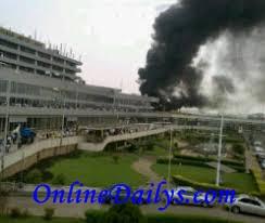 Murtala Muhammed International Airport fire outbreak photo 2