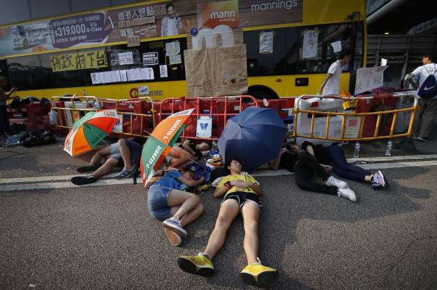 Photos of Hong Kong protests 12