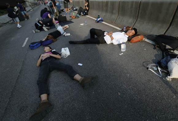 Photos of Hong Kong protests 15