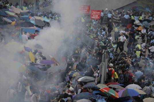 Photos of Hong Kong protests 41