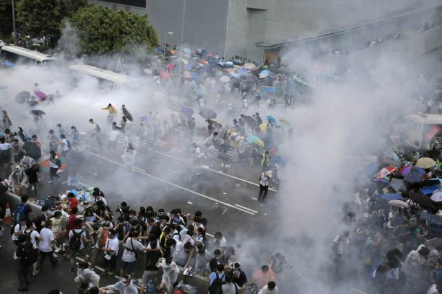 Photos of Hong Kong protests 43
