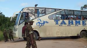 Kenya Bus Attack – Al-Shabaab militants kill 28 non-Muslims