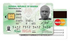 sample of new national identity card for nigeria