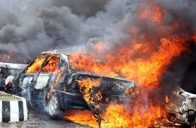 Gombe State Car Pack Bomb blast 2