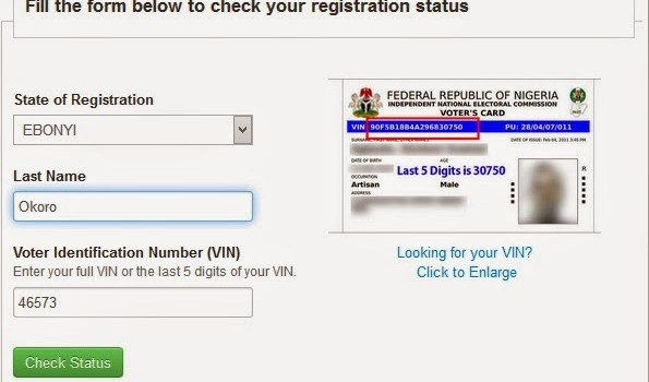 how to Check your Voter Status