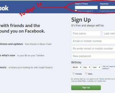 Facebook.com login
