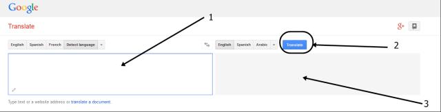 Google translate websiate