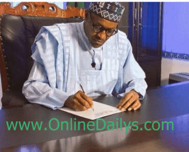 President Buhari New Appointment List
