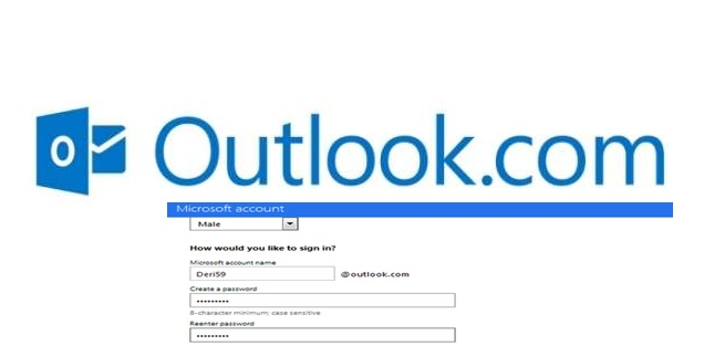 Outlook.com Sign Up mail