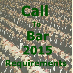 Call To Bar 2015 December Requirement