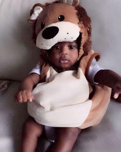 Photo of Tiwa Savage's son