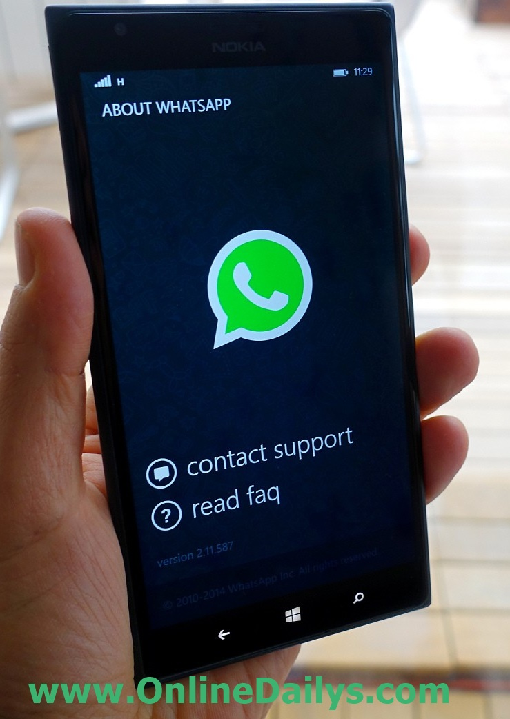 Download and Install WhatsApp for Windows phone
