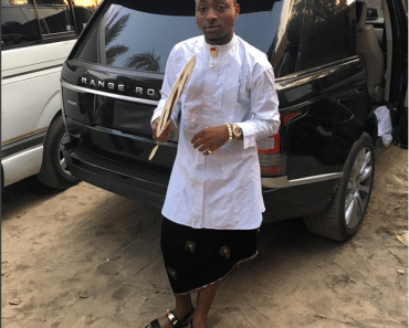 Davido in Igbo Traditional Attire