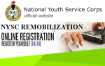 2016 NYSC Remobilization Online Application Portal