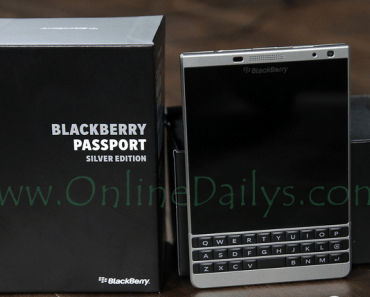 Picture of BlackBerry Passport Phone