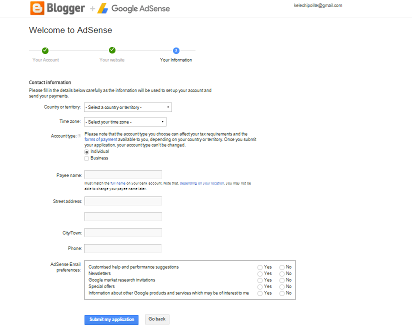 How to Get Approved Google AdSense for Blogger Spot (2016)