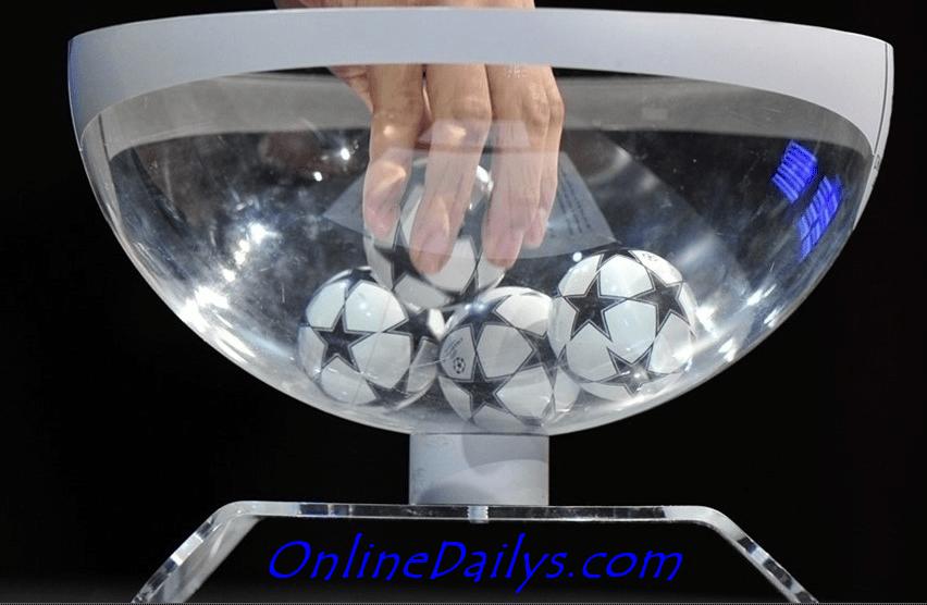 Picture - 2016 UEFA Champions League Quarter-final Draw