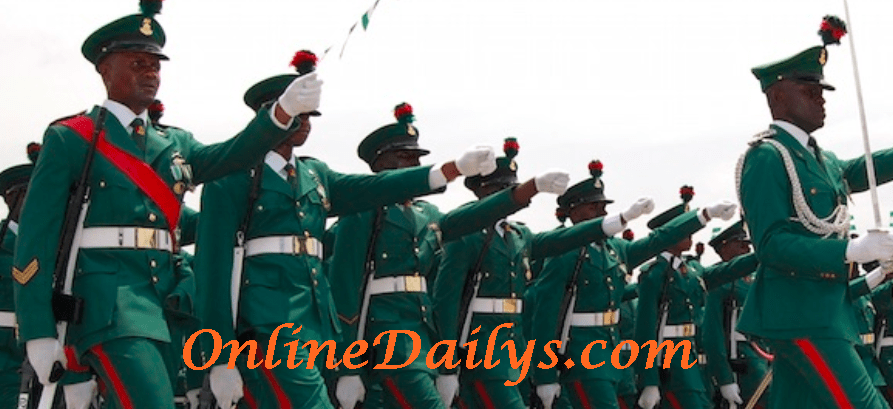 2016 Nigerian Army Registration Portal